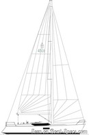 Conyplex  Contest 45CS sailplan