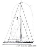 Conyplex  Contest 58 sailplan