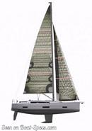 Dufour 390 Grand Large sailplan