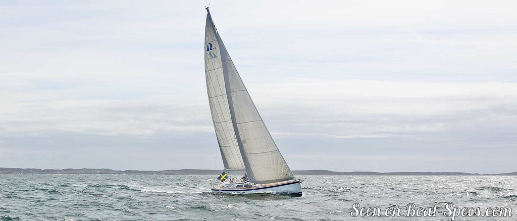 Hallberg-Rassy 57 sailboat specifications and details on