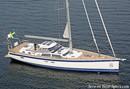 Hallberg-Rassy 57 sailing