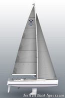 Arcona Yachts Arcona 435 sailplan
