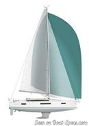 Jeanneau Sun Odyssey 410 sailplan