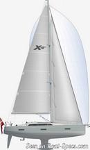 X-Yachts X4<sup>0</sup> plan de voilure