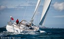 Oyster 565 sailing