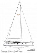 Oyster 565 sailplan