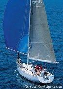 Bénéteau First 36.7 en navigation