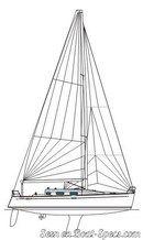 Bénéteau First 36.7 sailplan