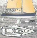 X-Yachts IMX 40 layout