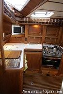 Nauticat Yachts Nauticat 42 accommodations