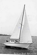 Bénéteau Evasion 28 en navigation