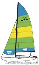 Hobie Cat 16 sailplan