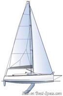 IDB Marine  Malango 888 plan de voilure