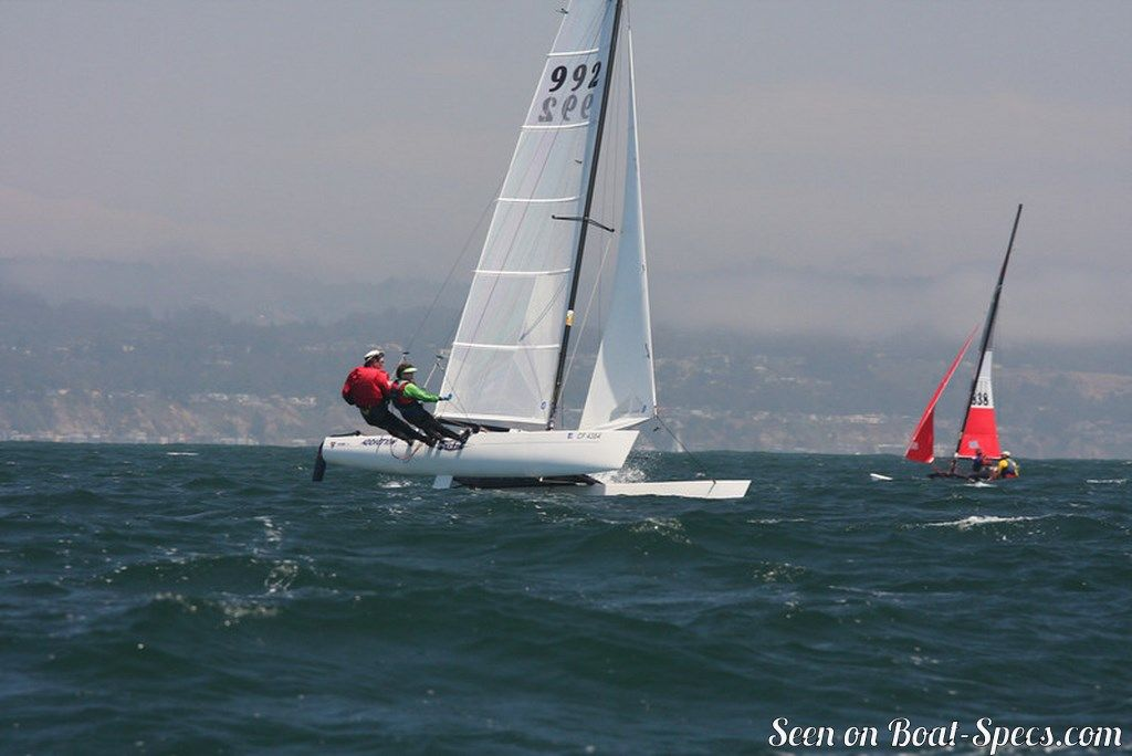 Hobie Cat Miracle 20 sailboat specifications and details on