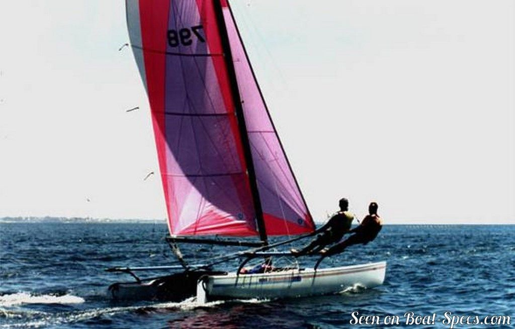 Hobie Cat 21 SE sailboat specifications and details on Boat