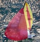 Hobie Cat 21 sailing