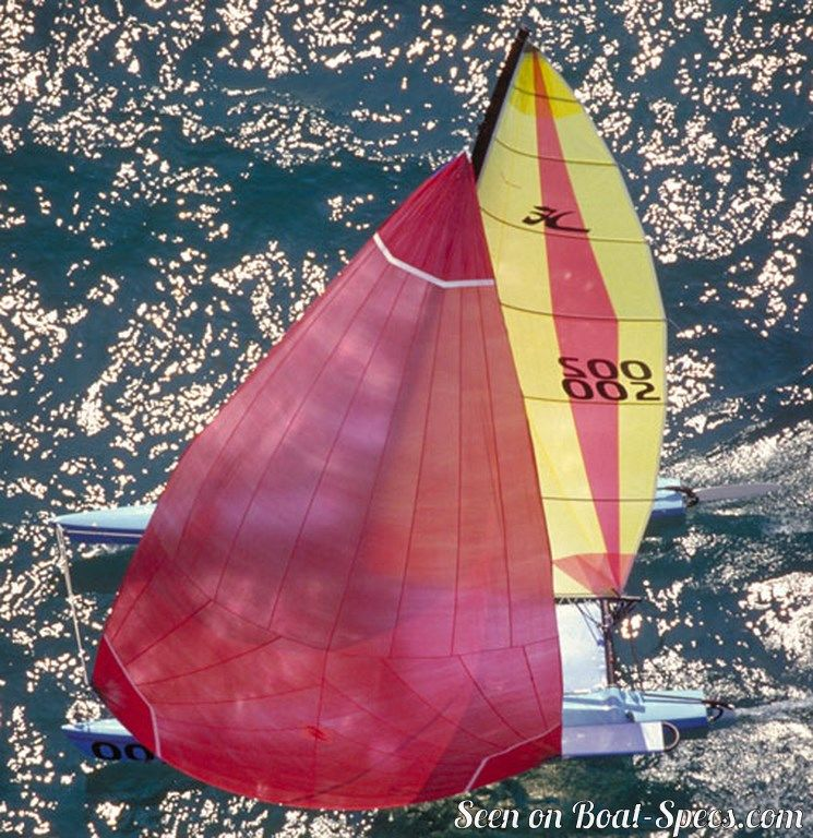 Hobie Cat 21 SE sailboat specifications and details on Boat-Specs com