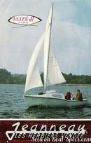Jeanneau Alizé en navigation