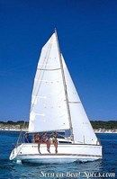 Jeanneau Sun Fast 26 sailing
