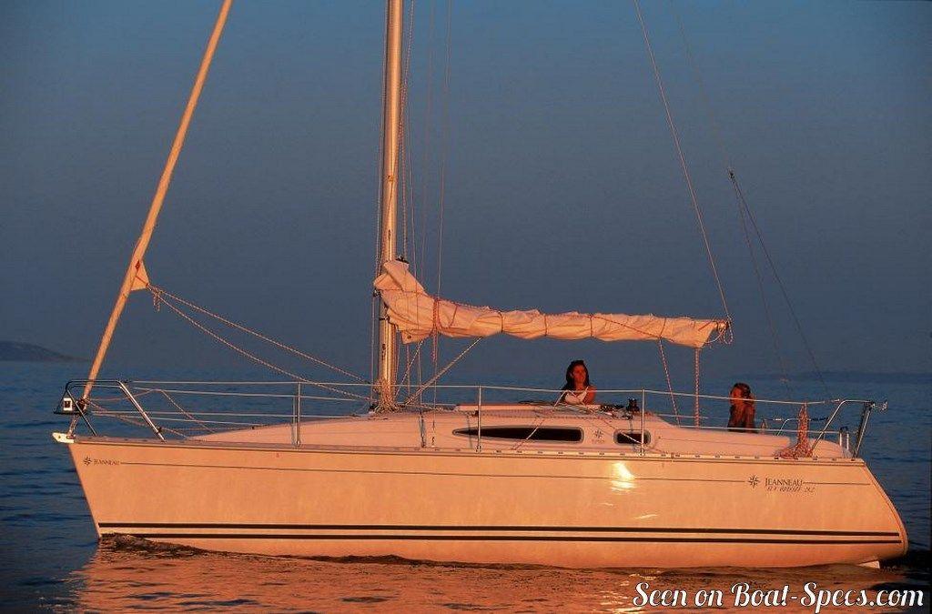 Sun Odyssey 29 2 Keel And Centerboard Jeanneau Sailboat