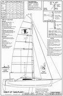 Corsair F27 plan de voilure
