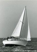 Bénéteau Evasion 25 sailing