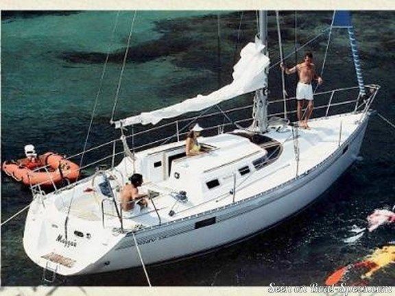 Océanis 350 wing keel (Bénéteau) sailboat specifications and