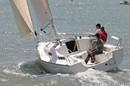 Jeanneau Sun 2500 sailing
