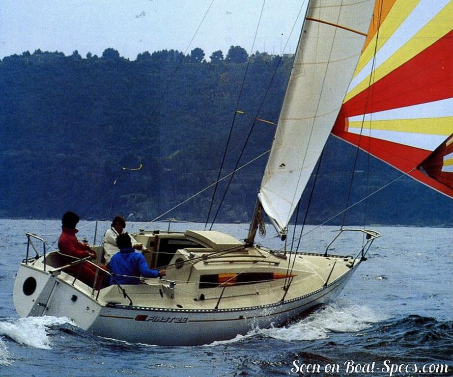First 26 lifting keel (Bénéteau) sailboat specifications and details