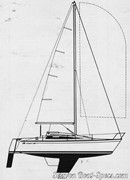 Bénéteau First 26 sailplan