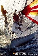 Bénéteau First 325 en navigation
