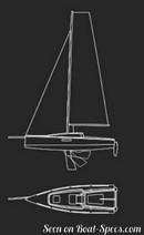 Seascape 27 sailplan