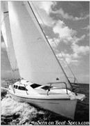 Marlow Hunter Hunter 29.5 en navigation