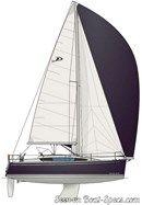 Delphia Yachts  Delphia 31 sailplan