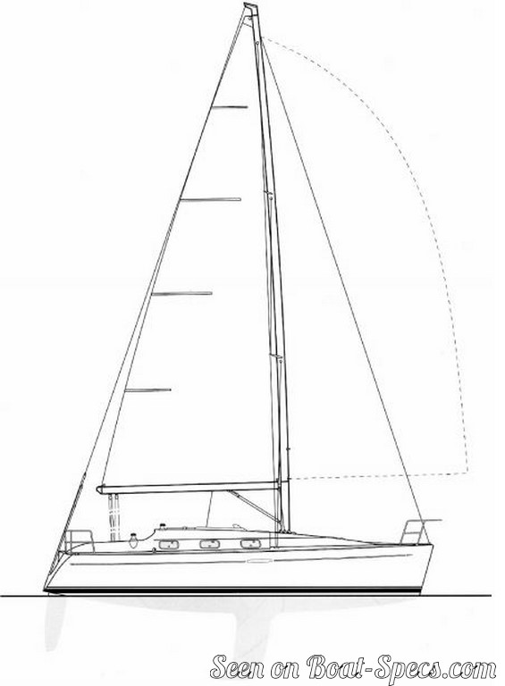 First 33 7 standard (Bénéteau) sailboat specifications and