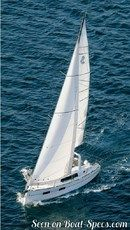 Bénéteau Océanis 35 en navigation