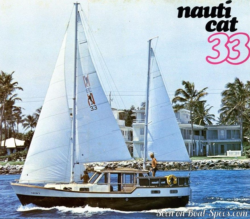 Nauticat 33 (Nauticat Yachts) sailboat specifications and details on