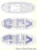 Nauticat Yachts Nauticat 33 layout