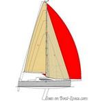 IDB Marine  Malango 1045 plan de voilure