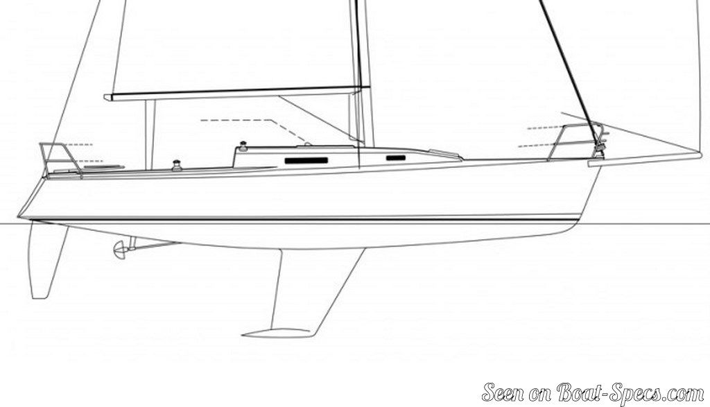 J/105 standard (J/Boats) sailboat specifications and ...