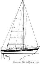Hallberg-Rassy 352 sailplan