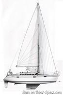 Bénéteau Océanis 370 sailplan