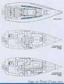 X-Yachts X-362 plan