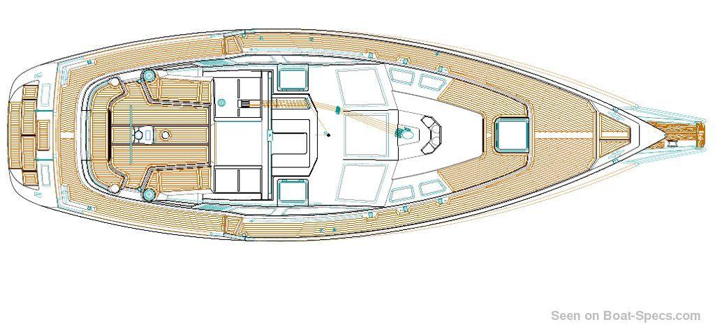 Nauticat 37 (Nauticat Yachts) sailboat specifications and details on  Boat-Specs com