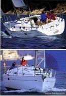 Bénéteau Océanis 381 sailing