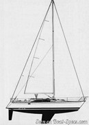 Bénéteau First 38 sailplan