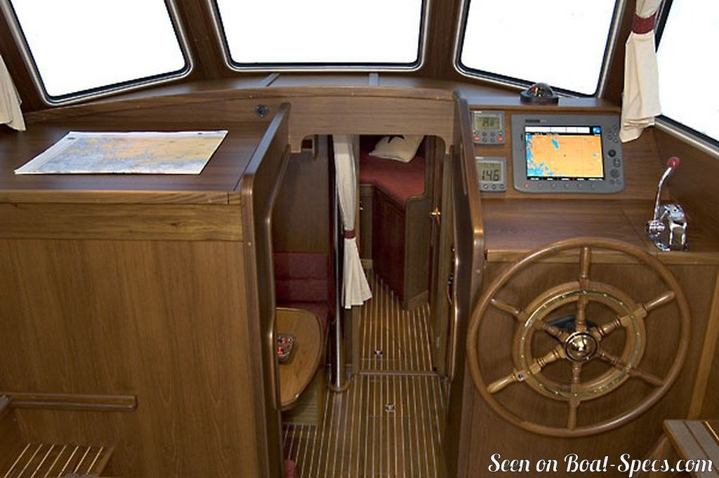 Nauticat 38 (Nauticat Yachts) sailboat specifications and details on  Boat-Specs com