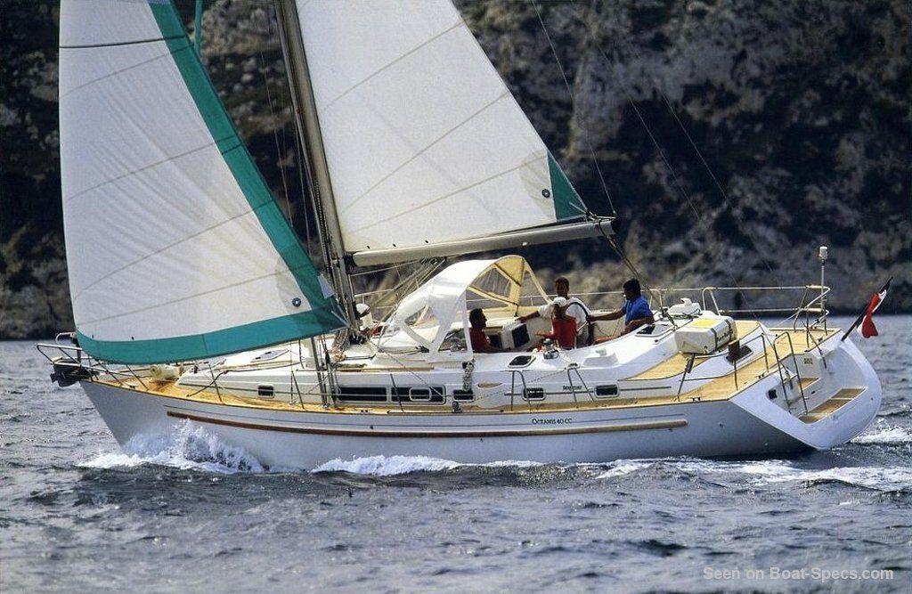 Océanis 40 CC (Bénéteau) sailboat specifications and ...