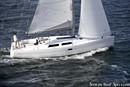 Hanse 400 sailing
