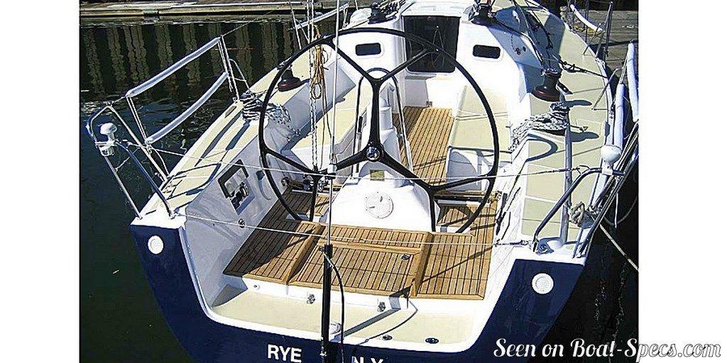 Boats J/122e cockpit